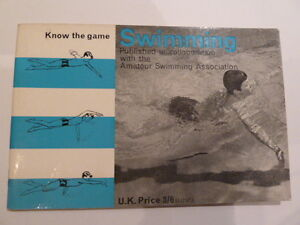 Know the Game Swimming   1965 Book   Rare - St Ives, Cambridgeshire, United Kingdom - Know the Game Swimming   1965 Book   Rare - St Ives, Cambridgeshire, United Kingdom