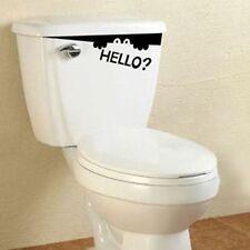 diy toilet seat new wall sticker peep monster hello art vinyl decor decals
