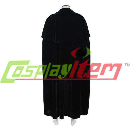 men/'s velvet cloak cape halloween cosplay costume PHANTOM OF THE OPERA cape NN