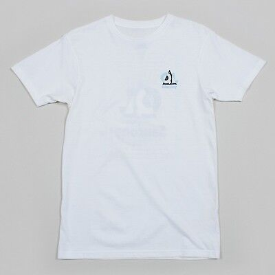 New The Quite Life X Saucony Footwear Grid Tee-Shirt, White Size S