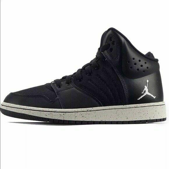 Size 13 - Jordan 1 Flight 4 Premium Black Grey for sale online | eBay