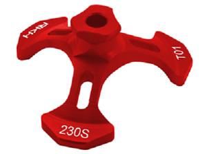Rakon-Blade-230S-CNC-AL-Swash-Leveler-Red-230ST01-R