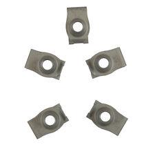 Steel Tapped-Hole U-Style Clip-On Nut Plain Finish Metric M8-1.25 Thread Size