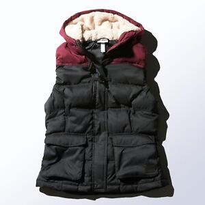 Hooded Down Body Warmer Winter Gilet M32620 Dames Sherpa Adidas Dames ZPqYHO