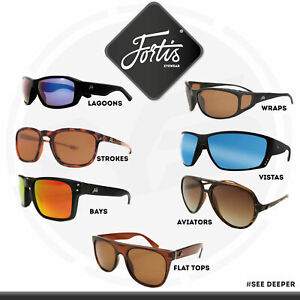 3fda27df4ea5 Image is loading Fortis-Eyewear-Polarised-Sunglasses-Fishing-glasses -Outdoor-Sports-