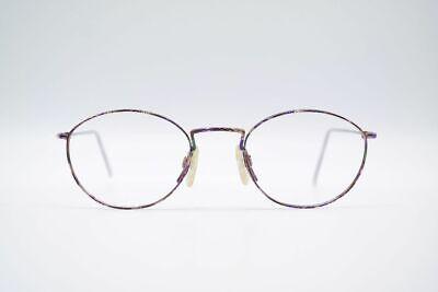 Affascinante Vintage 4252 47 [] 21 140 Lilla Ovale Occhiali Eyeglasses Nos-mostra Il Titolo Originale Estremamente Efficiente Nel Preservare Il Calore