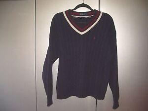 Ralph-Lauren-College-Pullover-Gr-XL-in-blau-01202