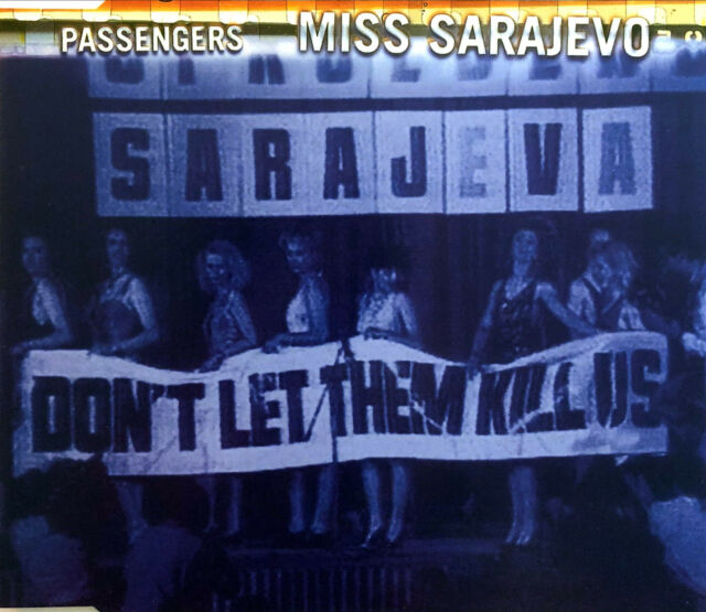 Passengers Maxi CD Miss Sarajevo - Europe (M/M)