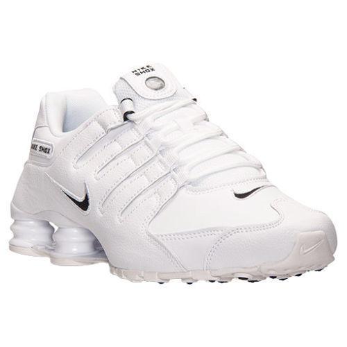 Nike Shox NZ EU  Mens Schuhe Herren Running Schuh Sneaker WEISS alle Größen