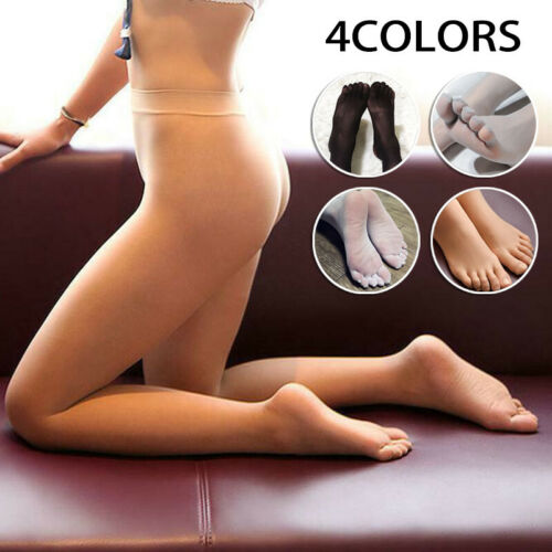 Underwear Pantyhose Stockings Sheer Separate Toe Transparent Seamless Tight