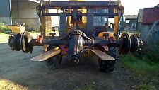 REAR AXLE REMOVED FROM  FORD IVECO TECTOR 75 E  BREAKING FOR SPARES