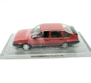 Model-Car-VW-Passat-Gl-B2-Red-Scale-1-43-diecast-IXO-modellcar-Static