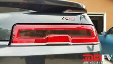 14-15 Chevy Camaro SMOKED Tail light Overlays TINT Vinyl wrap cover SS RS