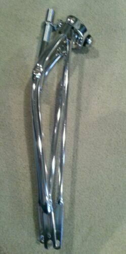 "NEW SPRINGER FRONT END FOR 26"" BEACH CRUISER BICYCLES CHROME 1 "", NICE"