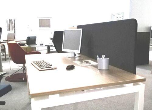 Schreibtischaufsatz Akustik Trennwand für den Schreibtisch Sichtschutzwand