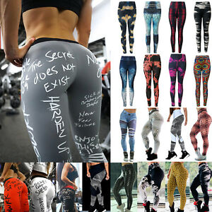 Women-Printed-Sports-Yoga-Pants-Fitness-Gym-Leggings-Running-Gym-Workout-Trouser