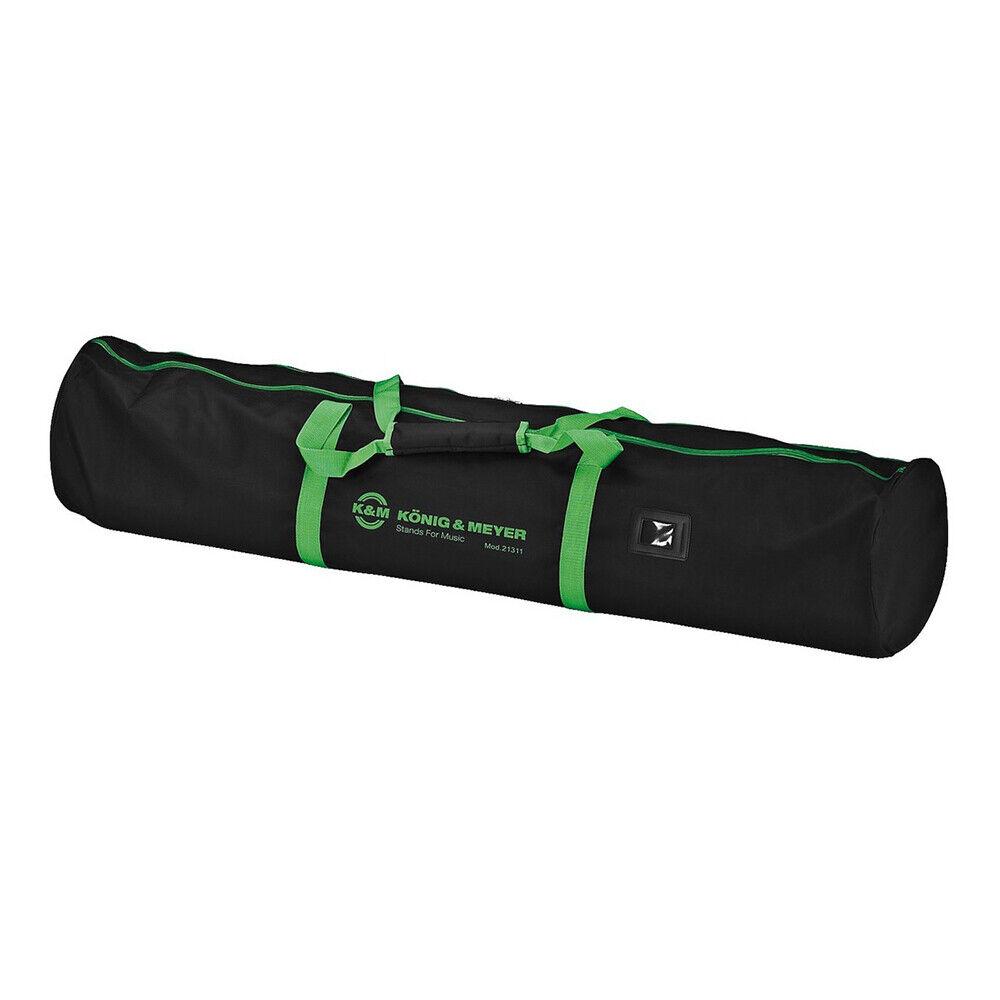 K&M Heavy Duty Nylon Tripod Speaker Stand Carry Bag for 2 x Speaker Stand