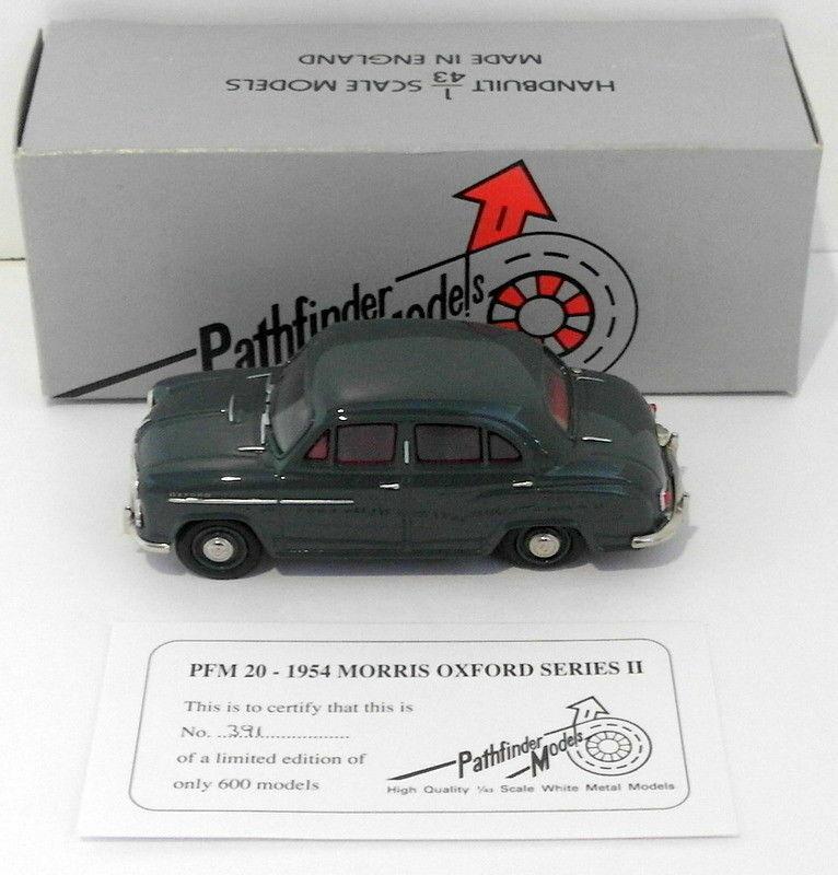 Pathfinder Models 1 43 Scale PFM20 - 1954 Morris Oxford Series II 1 Of 600 Grey