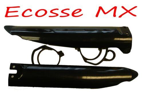 Kawasaki KX125 KX250 1996-2003 UFO Fork Guards Black 3704 001