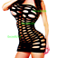 Bodystocking-Women-Sleepwear-Nightwear-Bodysuit-Nightwear-Robe-Stocking-Lingerie thumbnail 5
