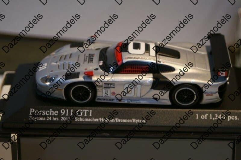 promociones Minichamps Porsche 911 GT1 GT1 GT1 Daytona 24hrs 2001 Schumacher 1 43 400016801  productos creativos