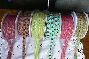 2-3-Tone-Trim-Braid-Stitched-Picot-Edge-15-20mm-3-Metres-Ea-6-Variety-Choice-LR5