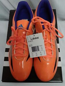 d298e4f5268 ADIDAS MEN S F5 TRX FG SOLAR ORANGE SOCCER CLEATS NWB