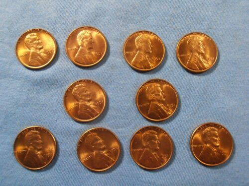 1951 P LINCOLN CENT Nice BU coin