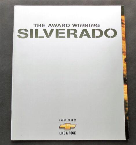 ORIGINAL 1999 CHEVROLET SILVERADO PICKUP 54 PAGE  BROCHURE  W// TECH SPECS ~ CS99