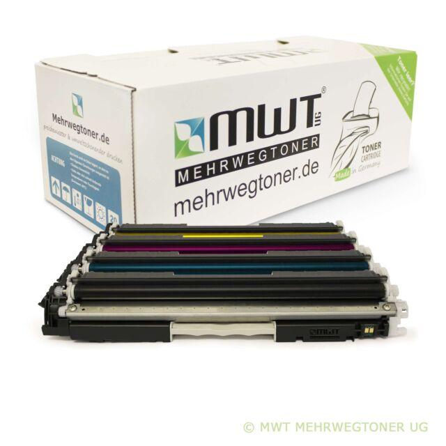 1-10 MWT cartucho/Refill para hp color LJ pro MFP m176 m177 como cf350a-53a 130a
