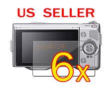 6x Sony Camera NEX-3 NEX-5 NEX-5N NEX-7 NEX-7N LCD Screen Protector Cover Film