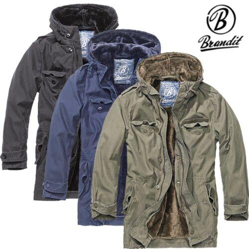 Brandit Herren Bw Parka Jacke Jacket Winterjacke Mantel Feldjacke Gr. S bis 5XL