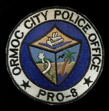 Ormoc City Philippine Philippines National Police Patch RP-2