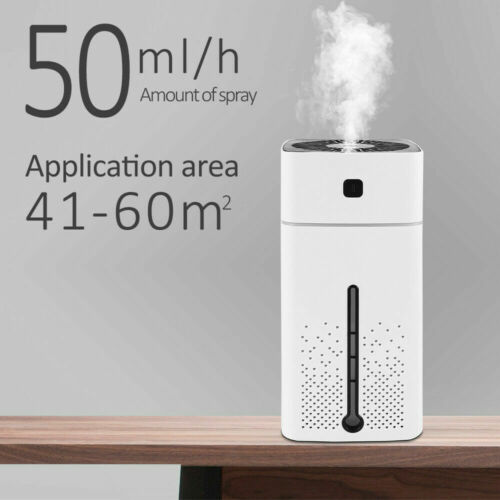 1000ML Electric Air Diffuser Aroma Oil Humidifier Night Light Up Difuser Home WO