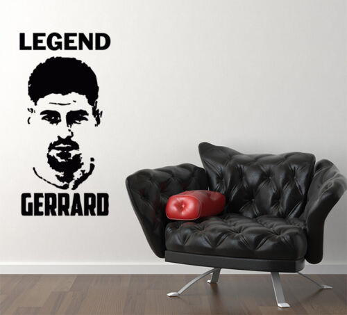 Steven Gerrard Football Player Legend Bedroom Decal Wall Sticker Picture Poster