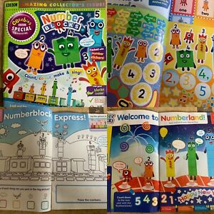 Numberblocks-Cbeebies-Special-Magazine-Only-With-Stickers-Amazing-Fast-Del