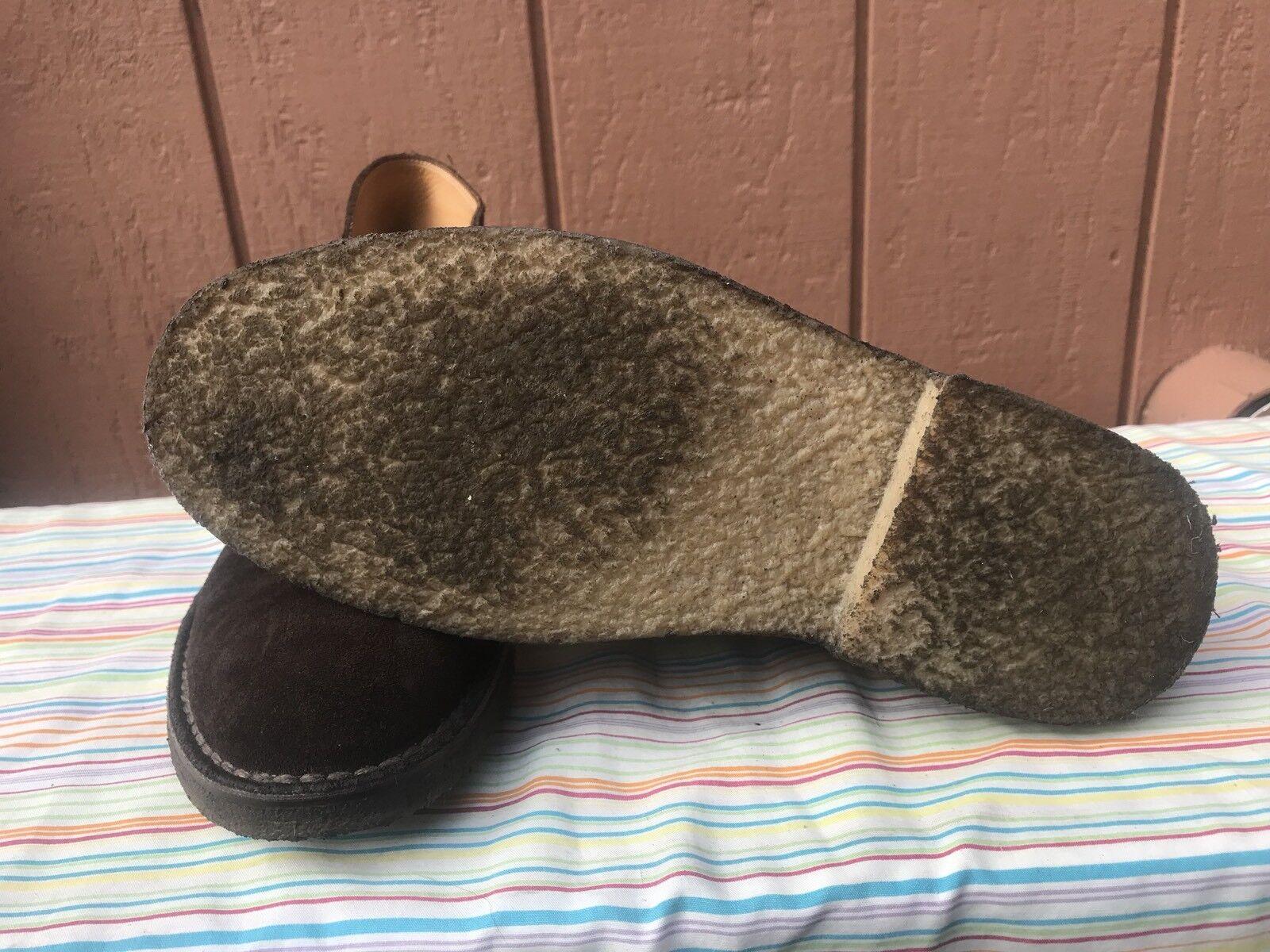 Usado en excelente Para estado Polo Ralph Lauren Para excelente hombres nos 8.5D Marlow Gamuza Marrón Botas al Tobillo bc553d