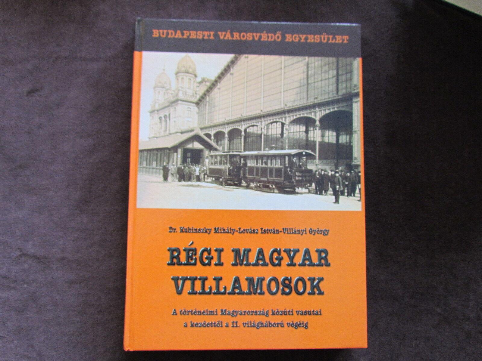 NR 1 - HUNGARY RAILROAD TRAIN BOOK FULL PHOTOS