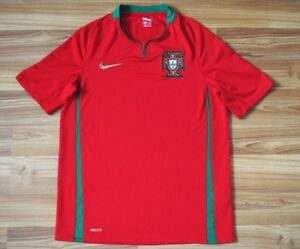 SIZE-S-PORTUGAL-NATIONAL-TEAM-FOOTBALL-SHIRT-2008-09-10-HOME-NIKE-JERSEY-SMALL