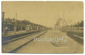 Russian Imp Pargolovo Vyborg Reg Finnish Parkala Railway Station Photo PC 1912
