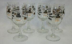 Set-of-6-Vintage-Wine-Glasses-Las-Vegas-Casinos-Logos
