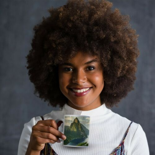 Saint St Lucia Drinks Mug Cup Kitchen Birthday Office Fun Gift #8987