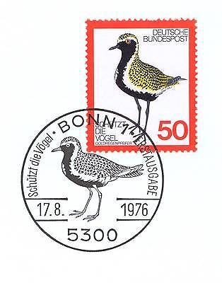 Clever Brd 1976: Vogelschutz Nr. 901 Mit Sauberem Bonner Ersttags-sonderstempel 1a! 153