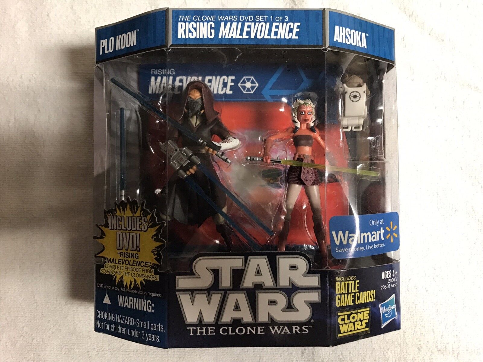 Star Wars The Clone Wars Rising Malevolence Set 1 Of 3