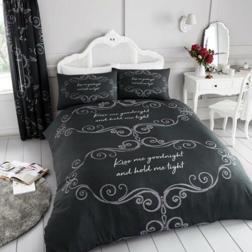 New Luxury Bedding Set Duvet Quilt Cover With Pillow Case Single Double King Su