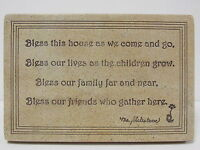 Boyd's 4425 - bless Our House Resin Wall Plaque - Ms. Shakesbeare