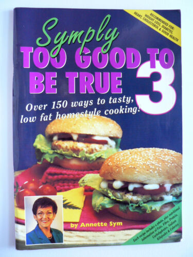 1 of 1 - Symply Too Good to be True 3 by Annette Sym (Paperback, 2001)