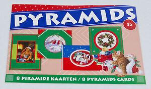 christmas mini pyramid 3d decoupage book by studio light book 32