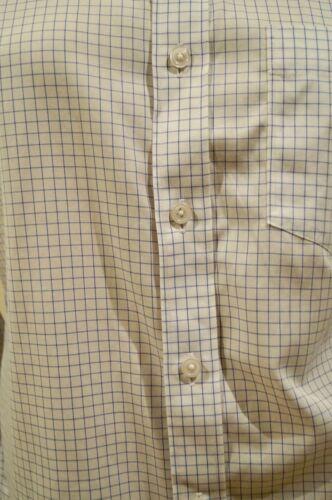 Casual J Crew White Blue S Collared Cotton Menswear 100 Fit amp; Shirt Slim Check ZZqgaPWwnr