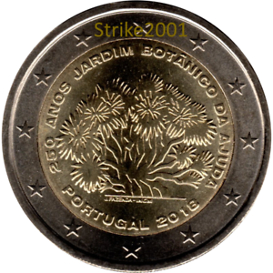 NEW !! 2 EURO COMMEMORATIVO PORTOGALLO 2018 250° Giardino Botanico AJUDA NEW !! YC7FO4ON-07134334-108218260